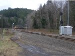 Ballast Train Approaching CP VP590