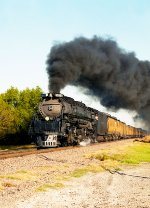 Union Pacific Challenger in Forney Texas fall 1990