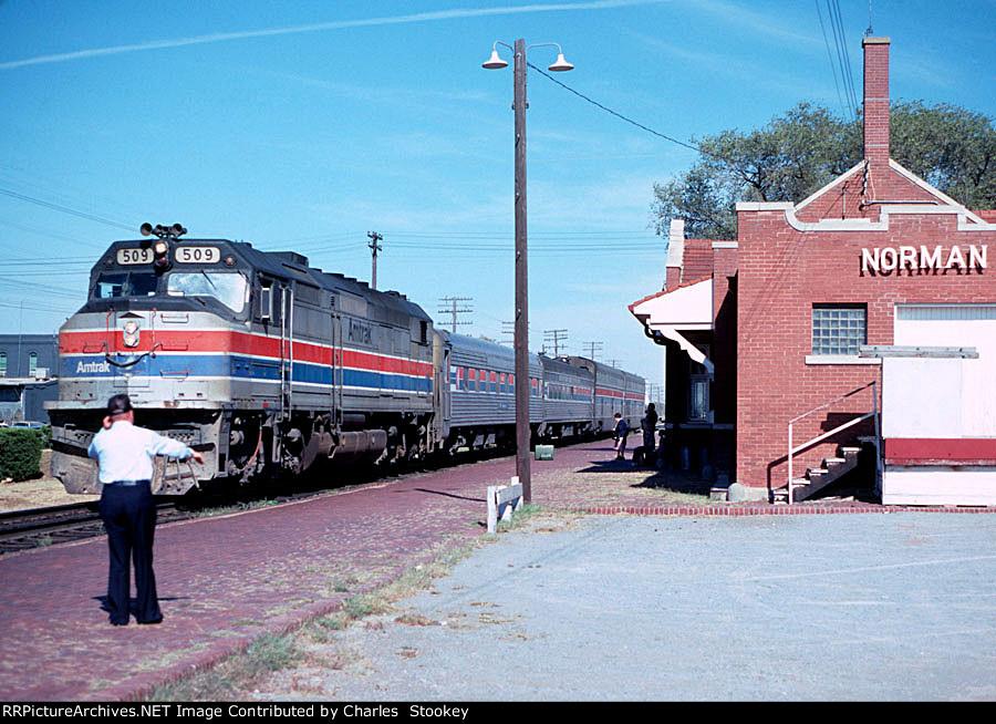 Amtrak 509