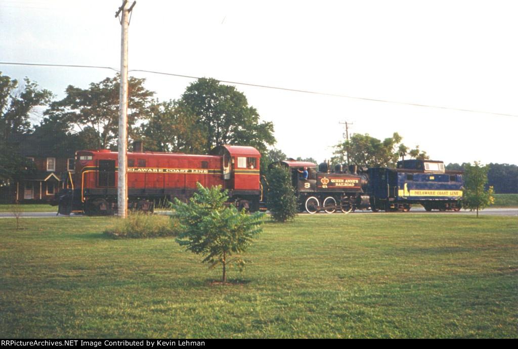 DCLR 19 & QARX 3