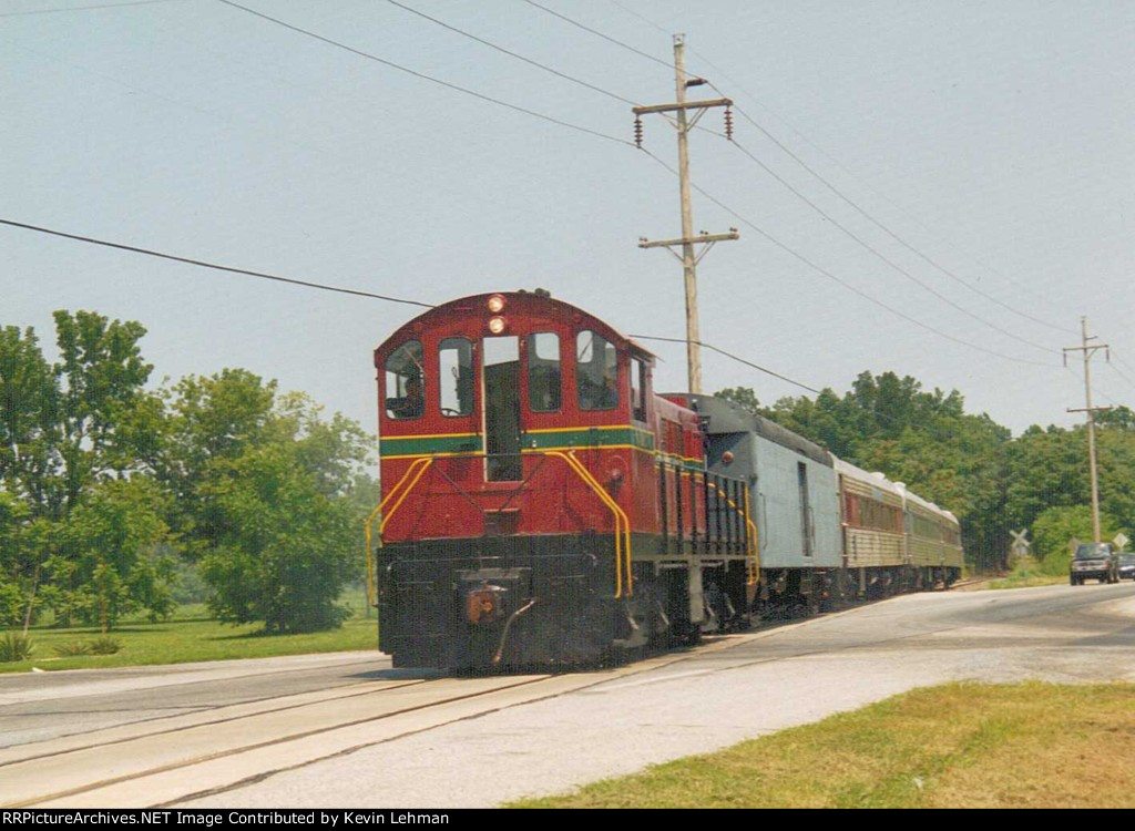 DCLR 19 with a special Wednesday train