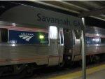 At Savannah, Georgia station.