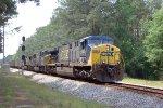 CSX 656 on T080-09