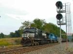 NS 591 empty coal train 9/19/2005