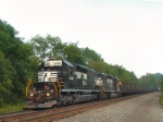NS 643 heads west