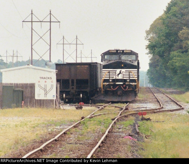 NS 9258 sitting at Indian River Power Plant