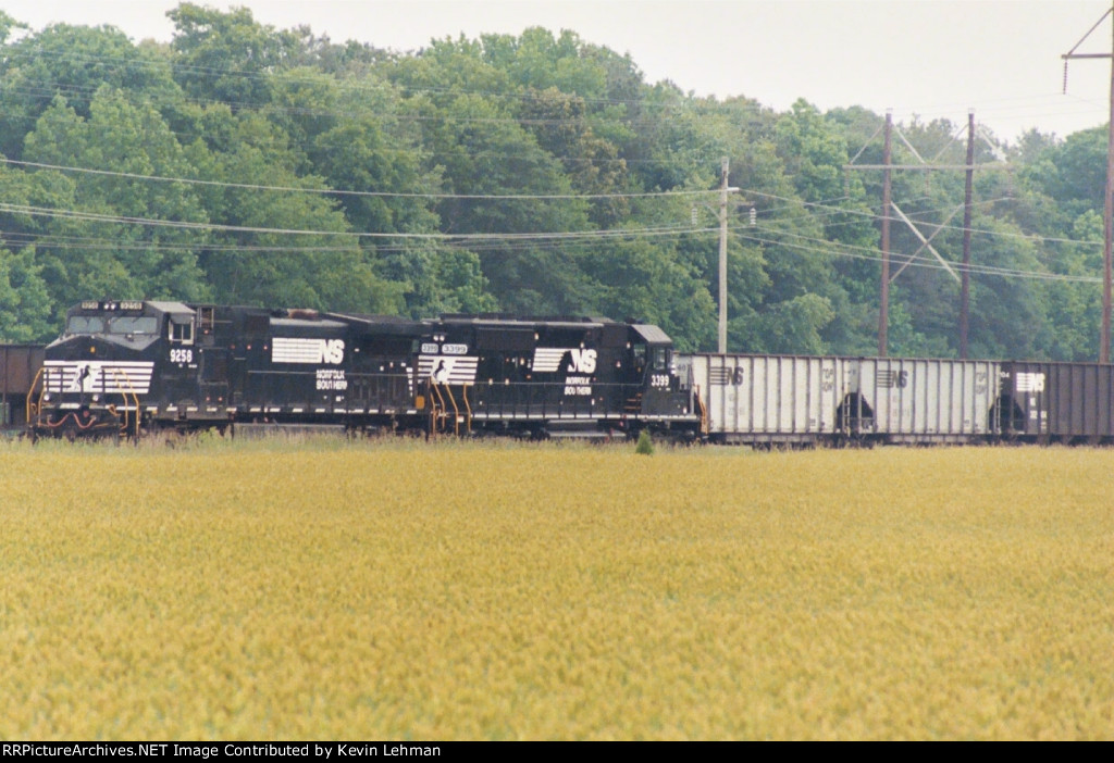 NS 9258 & 3399 sit at Indian River Power Plant