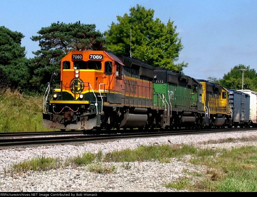 BNSF 7069