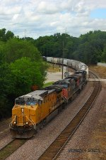 Eastbound MNA Loaded Grain Train