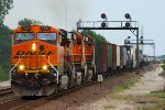 Westbound BNSF Mixed Freight Train