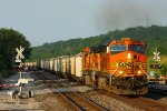 Westbound BNSF Loaded Grain Train