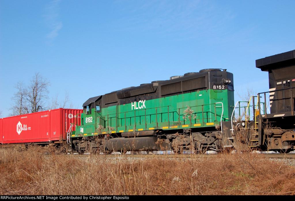HLCX SD40-2 8162
