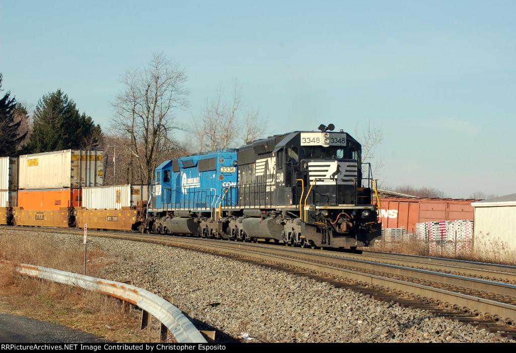 NS SD40-2 3348