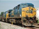 CSX 581 & CSX 4505