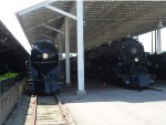 Norfolk & Western 611 and 1218 at Roanoke
