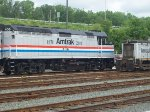Amtrak Heritage Unit 406