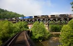 NS 9430 and 5 other units on Coopers Viaduct