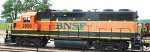 BNSF 2850, conductor's side