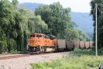 Eastbound BNSF Loaded Coal DPU