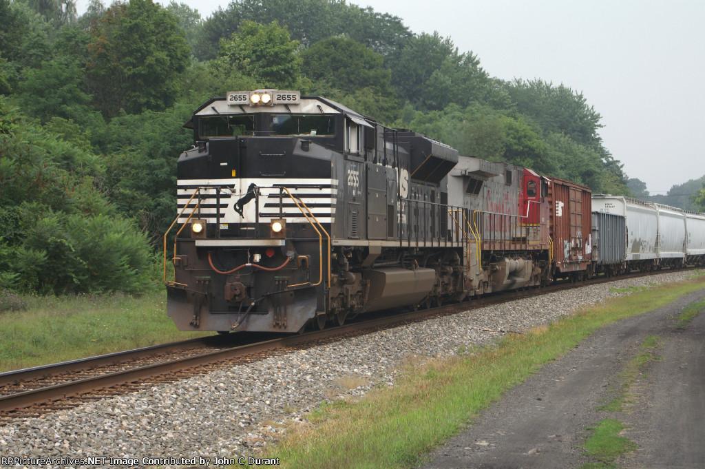NS 2655-BNSF 693