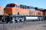 BNSF 6738 passes me by as she pulls a eastbound Z-Train towards Winslow, AZ and continue east towards Chicago, IL.