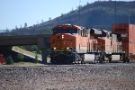 BNSF 6713 leads a Z-Train westbound as she crests the Grade at Flagstaff and starts the downhill run towards Needles, California.