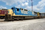 CSX comes for a cut of stone hoppers.