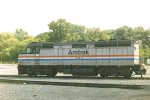AMTK 207 at Albany-Rensselaer maintenance facility
