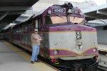 Me With MBTA 1060