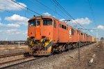 6E1 on container train