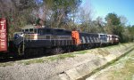 Lashup of 4 classic locomotives on the Carolina Southern railroad