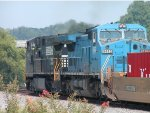 NS G2A transfer to ATL with a Blue Conrail unit
