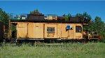 Loram Rail Grinder Caboose