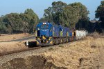 Class 34s on freight on Mefikeng line