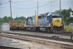 Empty CWR train rolls easr
