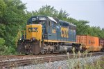 Eastbound intermodal waits