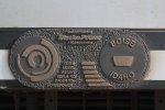 Metra #426 builder's plate