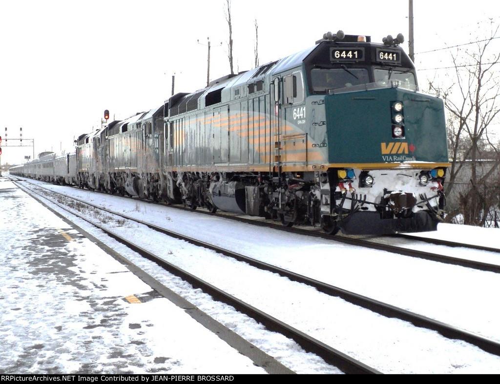 Halifax to Montréal rte15