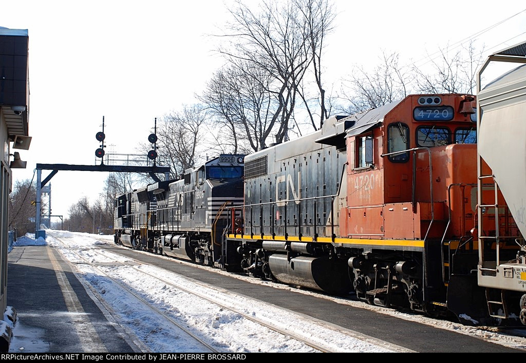 View of GP38-2s