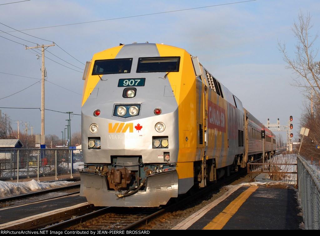 Via Rail Canada 150
