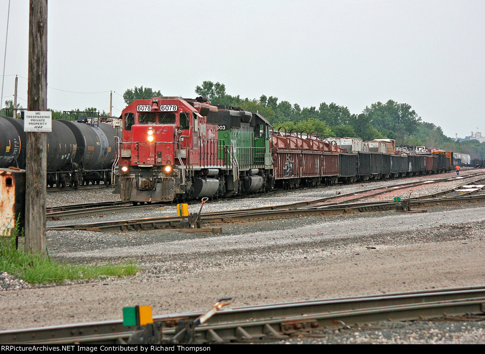 DME 6078 & HLCX 7003