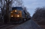 CSX Q409 stopped at MP18.7