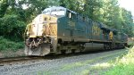 GE power takes a mixed freight by Northvale on the River Line