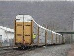ahhh, to be a conductor guiding 98 autoracks into the siding!