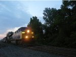 Q439 has a AC6000 leader during late evening hours at CP-22 on the River Line