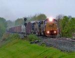 CSX 8765 leads Q433 in Blauvelt!