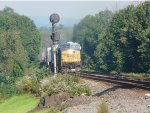 CSX Q008 passes the signal at CP22