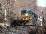 CSX 5419 leads Q439 in Northvale!