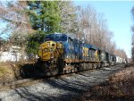 CSX 5419 in the shadows in Northavle