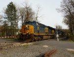 CSX 844leads Q438 in Blauvelt!